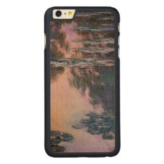 Claude Monet Water Lilies, 1907 GalleryHD Fine Art Carved Maple iPhone 6 Plus Case