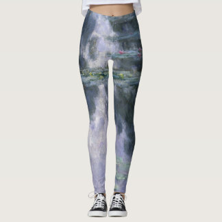Claude Monet Water Lilies 1907 Nymphéas GalleryHD Leggings