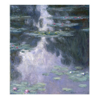 Claude Monet Water Lilies 1907 Nymphéas GalleryHD Photo Art