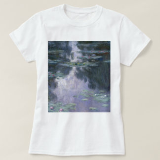Claude Monet Water Lilies 1907 Nymphéas GalleryHD T-Shirt