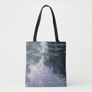 Claude Monet Water Lilies 1907 Nymphéas GalleryHD Tote Bag