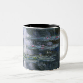 Claude Monet Water Lilies 1907 Nymphéas GalleryHD Two-Tone Coffee Mug