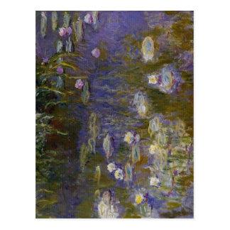 Claude Monet Water-Lilies 1914-1917 Technique Oil  Postcard