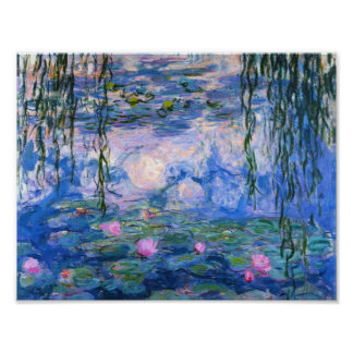 Claude Monet Water Lilies 1919 Poster