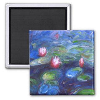 Claude Monet: Water Lilies 2 Magnet