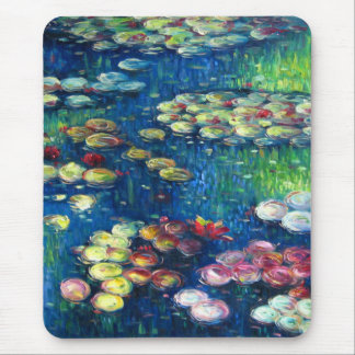 Claude Monet: Water Lilies 3 Mouse Pad