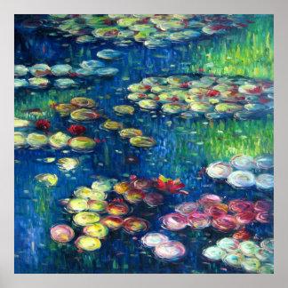 Claude Monet: Water Lilies 3 Poster
