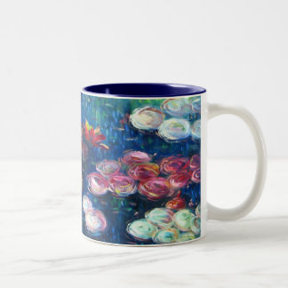Claude Monet: Water Lilies 3 Two-Tone Coffee Mug