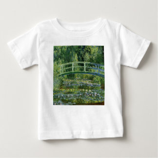 Claude Monet Water Lilies and Japanese Bridge Baby T-Shirt