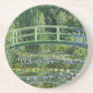 Claude Monet Water Lilies and Japanese Bridge Coaster