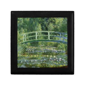 Claude Monet Water Lilies and Japanese Bridge Gift Box
