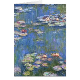 Claude Monet // Water Lilies Card