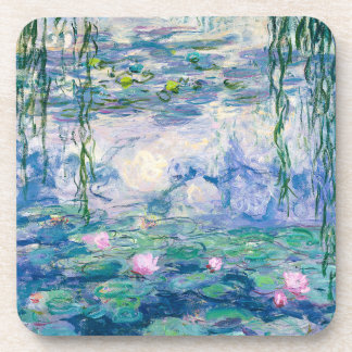 CLAUDE MONET - Water lilies Coaster
