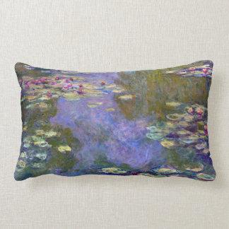 Claude Monet Water Lilies Lumbar Cushion