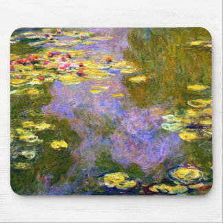 Claude Monet: Water Lilies Mouse Pad