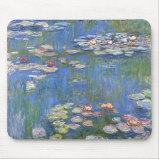 Claude Monet // Water Lilies Mouse Pad