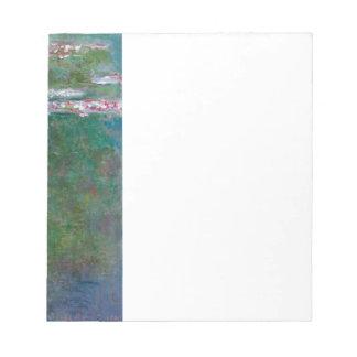Claude Monet // Water Lilies Notepad