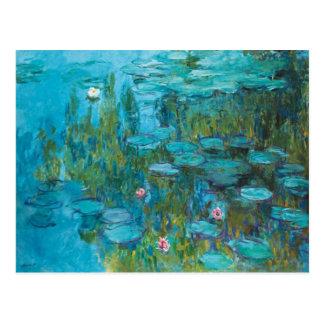 Claude Monet Water Lilies Nymphéas GalleryHD Postcard