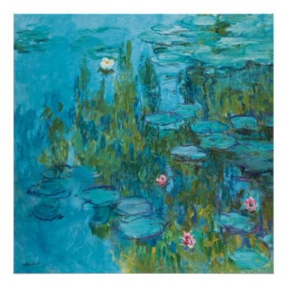 Claude Monet Water Lilies Nymphéas GalleryHD Poster