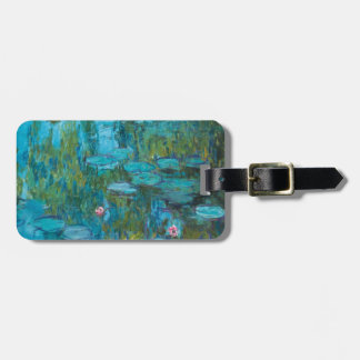 Claude Monet Water Lilies Nymphéas GalleryHD Travel Bag Tags