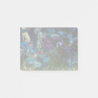 Claude Monet Water Lilies Post-it Notes