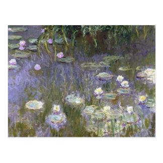 Claude Monet - Water Lilies Postcard