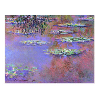 Claude Monet Water Lilies Postcard
