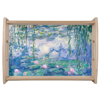CLAUDE MONET - Water lilies Serving Tray