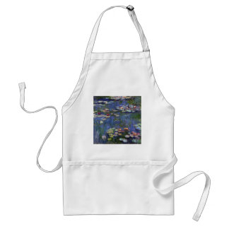 Claude Monet Water Lilies Standard Apron