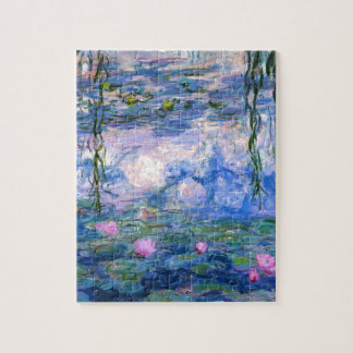 Claude Monet Water Lillies 1919 Jigsaw Puzzle