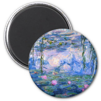 Claude Monet Water Lillies 1919 Magnet