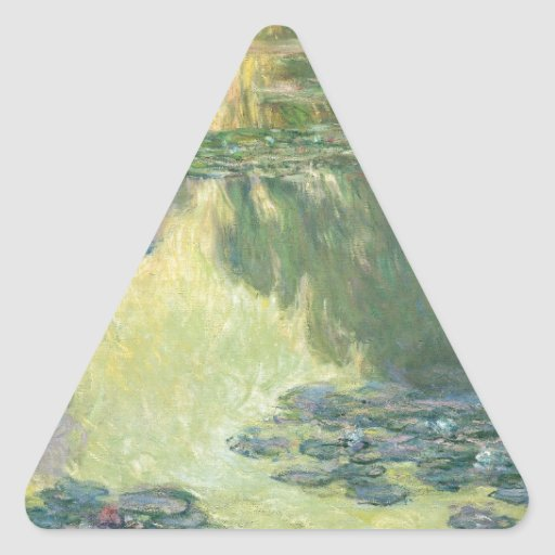 Claude Monet Water Lily Painting Impressionist Art Sticker