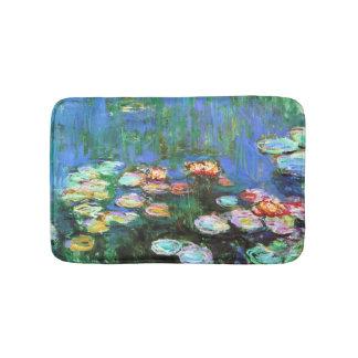 Claude Monet Water Lily Pond Bath Mats