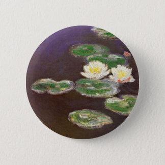Claude Monet - Waterlilies 6 Cm Round Badge