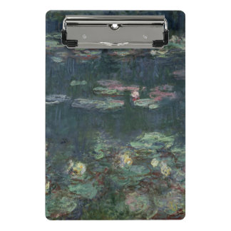 Claude Monet | Waterlilies: Green Reflections Mini Clipboard