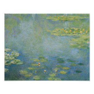 Claude Monet - Waterlilies Poster