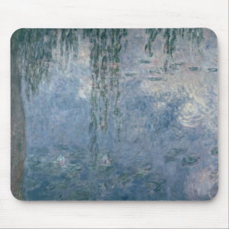 Claude Monet   Waterlilies: Weeping Willows, 1914 Mouse Pad