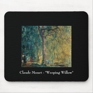 Claude Monet - Weeping Willow Mouse Pad