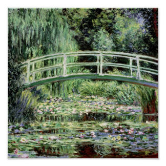 Claude Monet | White Waterlilies, 1899 Poster