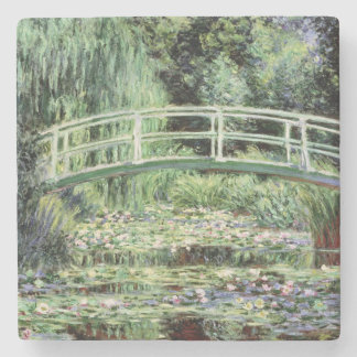 Claude Monet | White Waterlilies, 1899 Stone Coaster