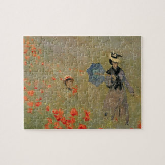 Claude Monet | Wild Poppies, near Argenteuil Jigsaw Puzzle