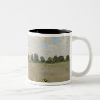 Claude Monet | Wild Poppies, near Argenteuil Two-Tone Coffee Mug