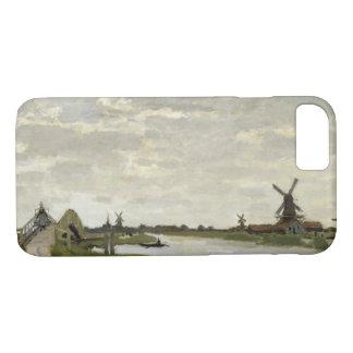 Claude Monet - Windmills Near Zaandam iPhone 8/7 Case