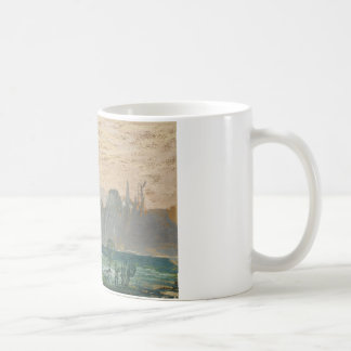 Claude Monet - Winter Landscape with Evening Sky Coffee Mug