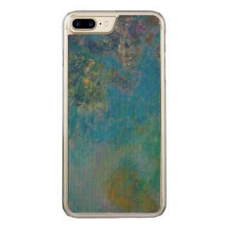 Claude Monet Wisteria Fine Art Floral GalleryHD Carved iPhone 8 Plus/7 Plus Case