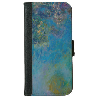 Claude Monet Wisteria Fine Art Floral GalleryHD iPhone 6 Wallet Case