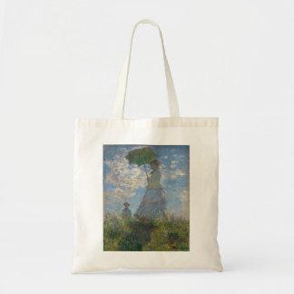 Claude Monet - Woman with a Parasol Bag