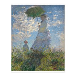 Claude Monet - Woman with a Parasol Flyers