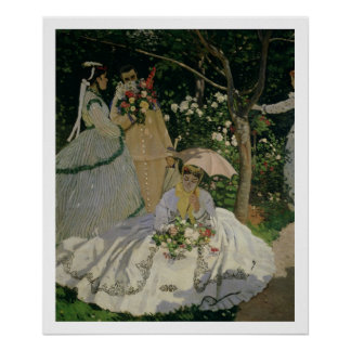 Claude Monet | Women in the Garden Poster