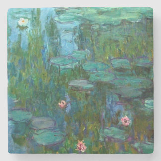 Claude Monet's Nymphéas Stone Coaster